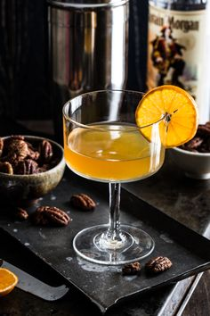 Rum Clementine Cocktail by Jelly Toast for #CaptainsTable