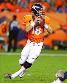 Peyton Manning Denver Broncos 2013 NFL Action Photo 8x10 #11
