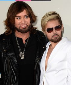 Billy Ray & Miley Cyrus | 16 Face Swaps Of Celebs And Their Kids That Will Scar You For Life
