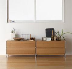 ユニットシェルフ   無印良品の収納   生活雑貨特集   無印良品ネットストア Muji, Humble Abode, Case Study, Kitchenware, Kitchens, Interiors, Cabinet, The Originals, Studio