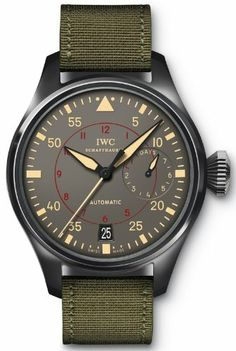 IWC Big Pilots Top Gun Miramar Anthracite Dial Automatic Mens Watch IW501902 - Listing price: $18,200.00 Now: $13,895.00