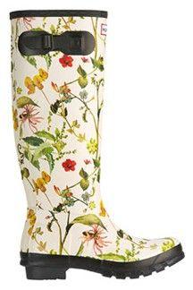 Botanical Wellington Boots