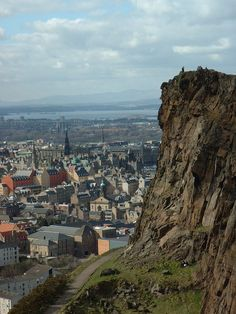 Edinburg, Scotland. (view from Arthur's Seat) An awesome city. We spent a week here!