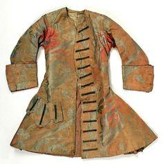 Coat, silk, European