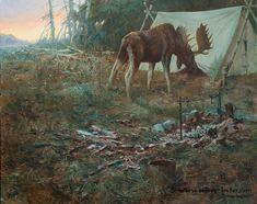 Wake Up Call     Not Just Wildlife Art of John & Suzie Seerey-Lester