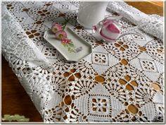 Meloka Arte e Design: Belíssima toalha de mesa