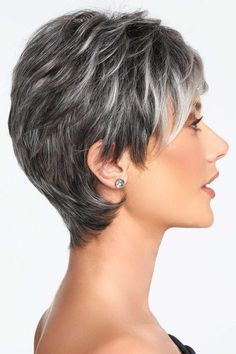 Crushing On Casual by Raquel Welch Wigs - Lace Front, Monofilament Wig Cool Braid Hairstyles, Twist Hairstyles, Short Hairstyles For Women, Hairdos, Black Hairstyles, Natural Hair Twists, Natural Hair Styles, Short Hair Styles, Short Grey Hair
