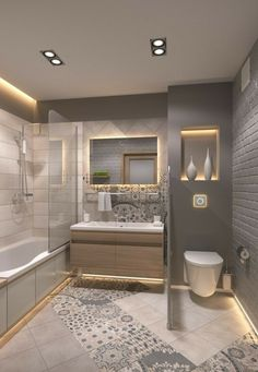 Farmhouse Style Master Bathroom Remodel Decor Ideas 2018 Bathroom Renovation IdeaS bathroom remodel cost, bathroom ideas for small bathrooms, small bathroom design ideas Small bathroom ideas remodel Master bathroom decor Bathroom Layout, Modern Bathroom Design, Bathroom Interior Design, Bathroom Designs, Simple Bathroom, Modern Interior, Narrow Bathroom, Bathroom Mirrors, Dyi Bathroom