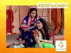 Here's the Milestone no.2 in Diya Aur Bati Hum. Remember Maasa? Bhabho's mother-in-law? Strict, disciplinarian and traditional.  One of the most challenging task for Sandhya was to win Maasa's trust and confidence. With time and efforts, she eventually did. #900ForDABH #9Milestones