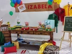 Kit Festa Infantil Detetives do Prédio Azul