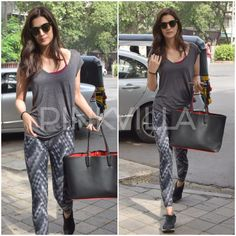 Kriti Sanon snapped post a salon session in the city! Bollywood Fashion, Bollywood Actress, Disha Patni, Shruti Hassan, Jean Top, Casual Street Style, Best Actress, Indian Wear, In This World