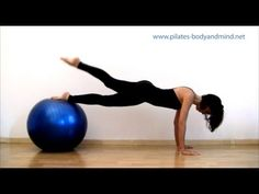 Pilates - Esercizi con la Palla (Gym Ball)