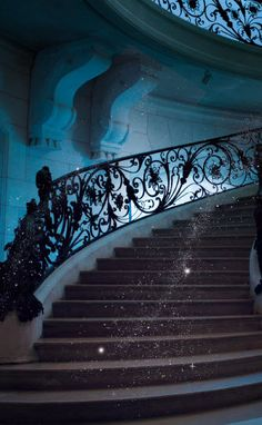Magically climbing the stairs to complete business success - its happening easily im in the flow
