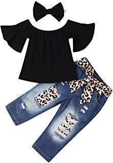 Fantasy Dabbing Horse Unicorn Toddler Baby Girls Cotton Ruffle Short Sleeve Top Soft T-Shirt 2-6T