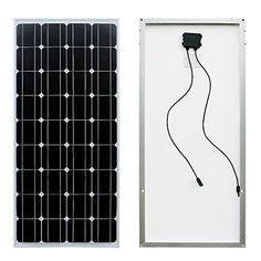 ECO-WORTHY 100 Watt 100w Monocrystalline Photovoltaic PV Solar Panel Module 12 Volt 12V Battery Charging ECO-WORTHY http://www.amazon.com/dp/B00V4844F4/ref=cm_sw_r_pi_dp_AQXTvb00E2762