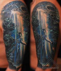 tattoo freediving - Hledat Googlem