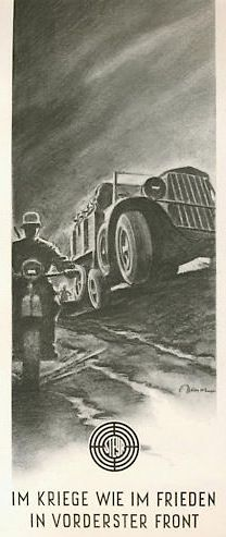 Steyr advertisement from 1941 (39,296 bytes)