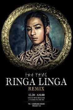 Taeyang to drop a remix of 'RINGA LINGA' for YGXSAMSUNG MUSIC project | allkpop