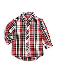 Hartstrings - Infant Boy's Plaid Shirt