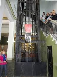 Elevator in lobby of ambos mundos Havana, Havana, Cuba
