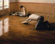 Titolo dell'immagine : Gustave Caillebotte - The Parquet Planers