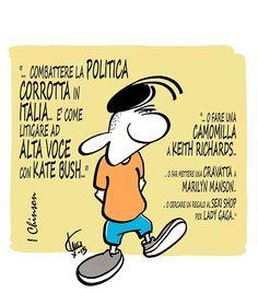 #IoSeguoItalianComics #Satira #Politica #italia