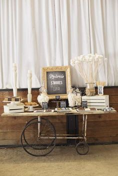 Andrea's 40th Birthday S'mores Bar | CatchMyParty.com