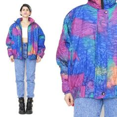 Image result for quilt jacket 80s