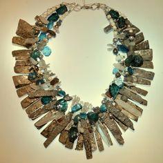 Instinct Jewelry........2015 London Blue Topaz Contemporary Craft Market June 5-6-7 Pasadena CA