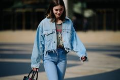 Real or Faux, New York Fashion Week Street Style Is All About Fur and Leather Photos | W Magazine