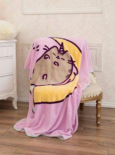 Pusheen Pusheenicorn Throw Blanket,