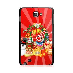 Clown And Snowman Samsung Galaxy Note Case