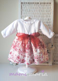 'Toile' Vestido Colección Otoño-Invierno Mamimaria 2013