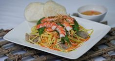 Today's special: Green Mango Salad. No waiting time - order online now: http://orders.ilovepho.com.au