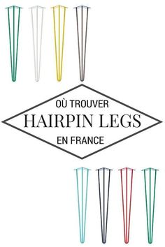 Hairpin Legs: where to find them in France? Furniture Plans, Diy Furniture, Diy Coffee Table, Idee Diy, Hairpin Legs, Do It Yourself Crafts, Home Deco, Decoration, Home Crafts