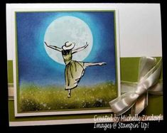 Dance By The Light of the Moon – Stampin' Up! Card