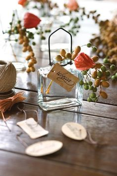 Fall table decor, decorations