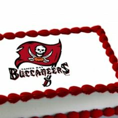 17 Best Tampa Bay Buccaneers Cakes images | Tampa Bay Buccaneers ...