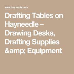 Drafting Tables on Hayneedle – Drawing Desks, Drafting Supplies & Equipment