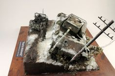 Dioramas and Vignettes: Road to Malmedy. Ardennes, 1944, photo #2