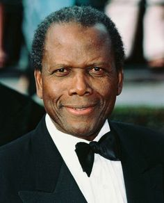 Sidney Poitier, Master Thespian, I would curtsey in his presence if I was ever so lucky to meet him :)