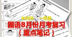 Nota Ulangkaji PBS3 校本評估3 (考試複習筆記)- TAHUN 11. Imbuhan akhirani.) 加上-an (變成名詞)pameran 展覽會bacaan 讀物pin...