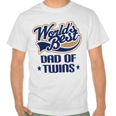 Celebrate being a new Dad with this World's Best Dad Of Twins father's day design. #twins #twin #boys #dad #of #twins #twin #babies #babies #father's #day #father #of #twins #fathers #day #twins #worlds #best #dad #twins #best #dad #of #twins #father