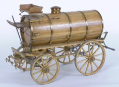 Water Spray Tanker Wooden Cart, Wooden Wagon, Landscape Timber Crafts, Rustic Tv Console, Wood Pallet Recycling, Horse Drawn Wagon, Old Wagons, Decorated Wine Glasses, Rustic Wood Walls
