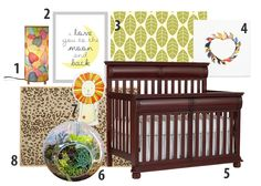 Jungle Nursery - Pennsylvania Collection by kathy ireland Baby