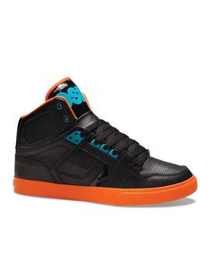 Take a look at this Black & Orange NYC 83 Vulc Sneaker by Osiris Shoes on #zulily today!
