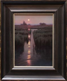 Kevin Courter painting, Wetland Harmonies, 12x9, oil on linen