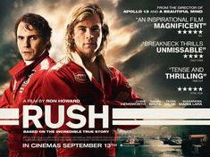 New poster for #Rush
