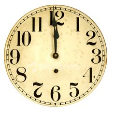 free printable backwards clock face | Where is the Zero on a Clock?