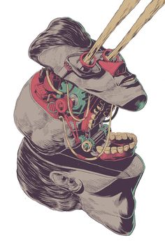 First Art Print Series by Smithe, via Behance